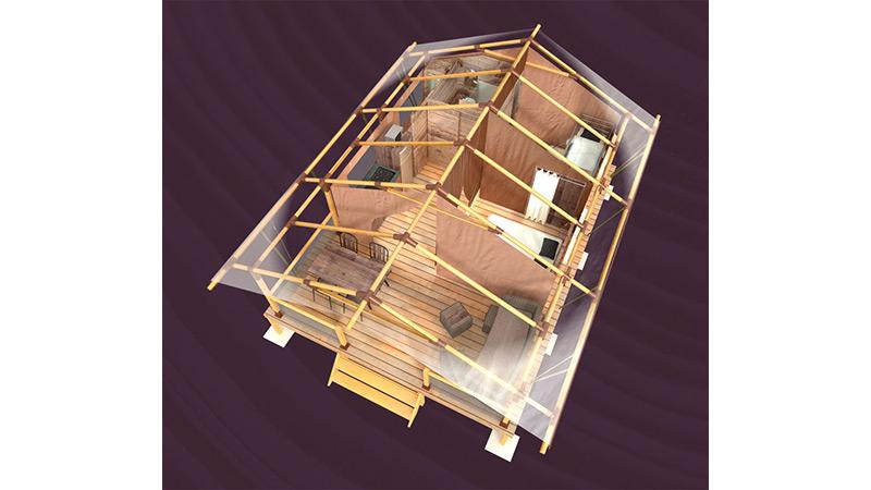 Plan 3D - Lodge ASTER